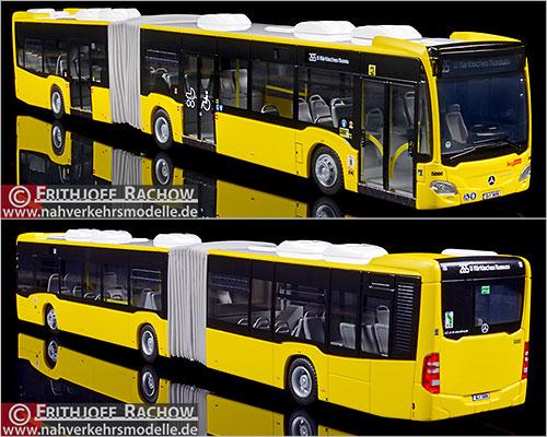 Klosterfrau melissengeist biplano de Büssing autobús Berlín BVG omnibus h0 Å