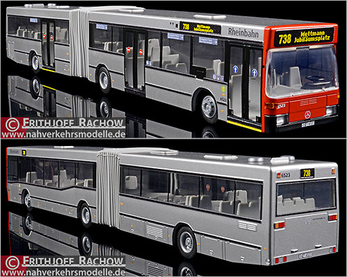 1//87 Rietze MB o 405 WSW móvil Wuppertal 71830