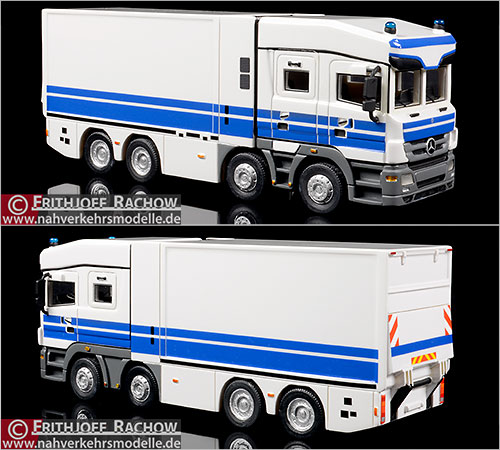 BoS Models Werttransporter Artikel 87635 Mercedes Benz Actros Deutsche Bundesbank