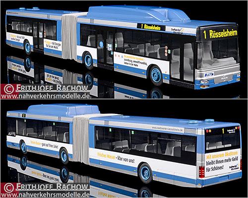 Rietze Stadtbus MAN SL 202 MIT.Bus Gießen 72123